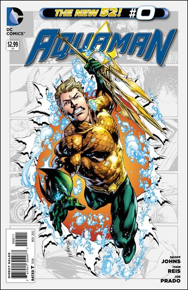 Aquaman (2011) 0-A by DC