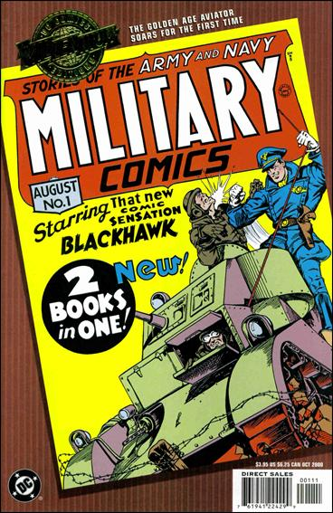 Millennium Edition: Military Comics 1-A by DC