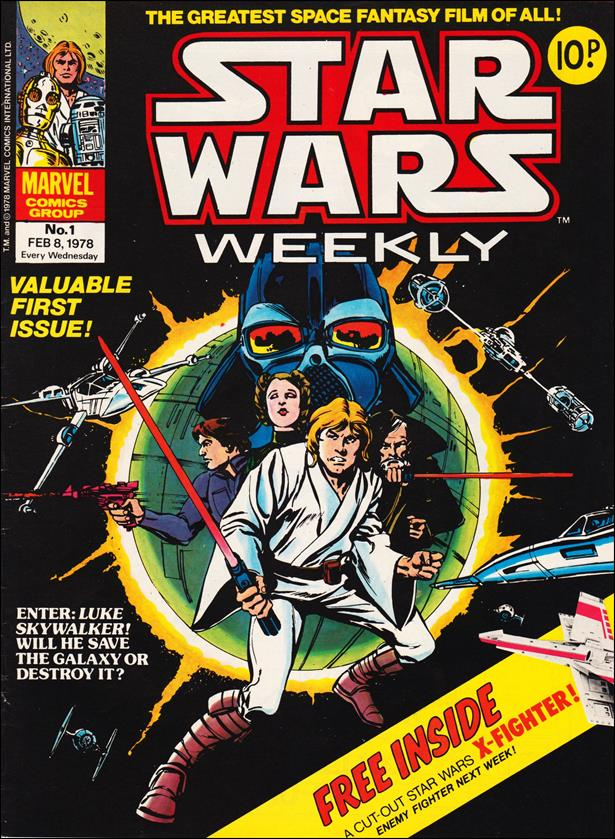 Star Wars Weekly (UK) 1-A by Marvel UK