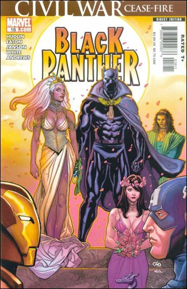 Black Panther (2005) 18-A by Marvel