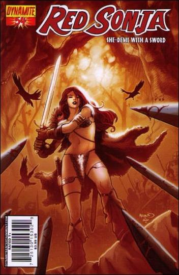 Red Sonja (2005) 54-A by Dynamite Entertainment