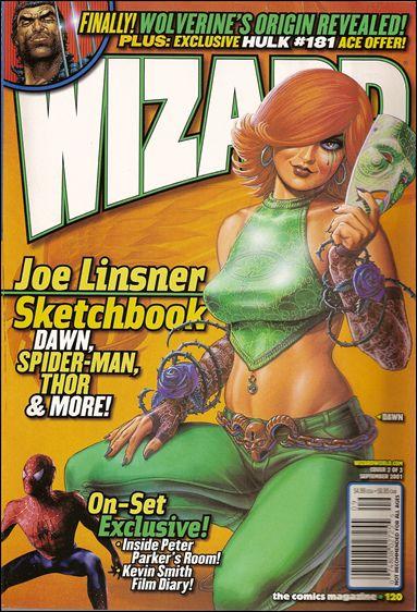 Wizard: The Comics Magazine 120-B by Wizard Press