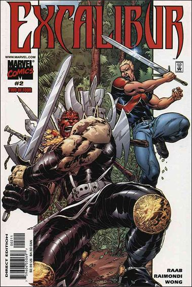 Excalibur (2001) 2-A by Marvel