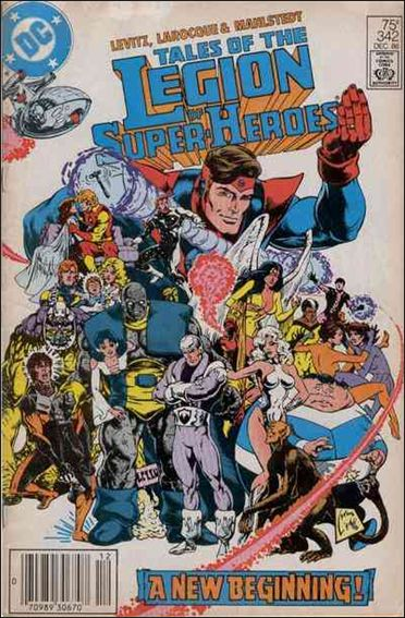 Tales of the Legion of Super-Heroes 342-A by DC