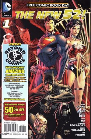 DC Comics - The New 52 FCBD Special Edition 1-C