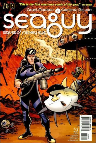 Seaguy: The Slaves of Mickey Eye 3-A by Vertigo