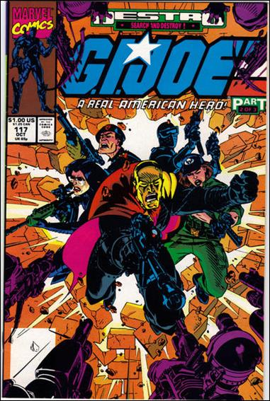 G.I. Joe: A Real American Hero 117-A by IDW