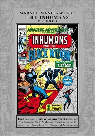 Marvel Masterworks: The Inhumans 1-A