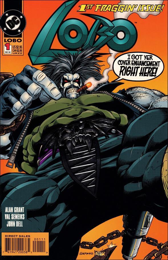 Lobo (1993) 1-A by DC