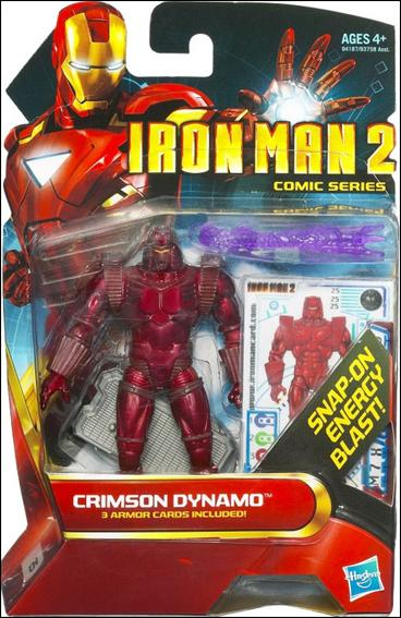 Iron Man 2 Crimson Dynamo (Comics Series) by Hasbro