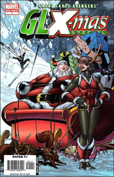 GLX-Mas Special 1-A by Marvel