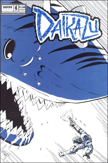 Daikazu 4-A by Ground Zero Comics