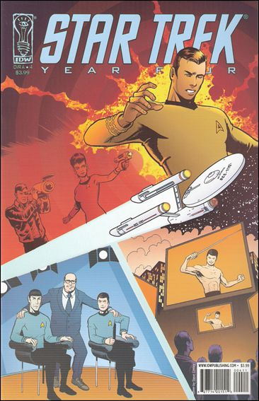 Star Trek: Year Four 4-A by IDW