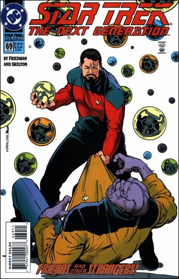 Star Trek: The Next Generation (1989) 69-A by DC