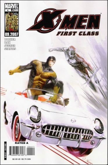 X-Men: First Class (2007) 4-A by Marvel