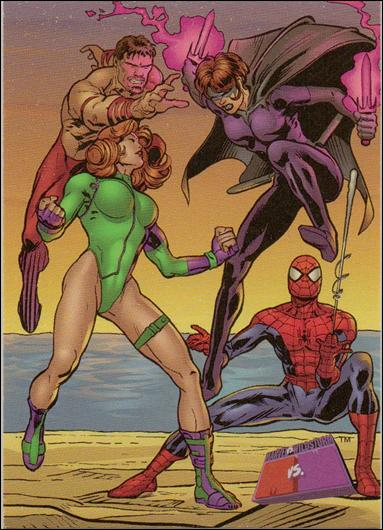 Marvel vs WildStorm (Base Set) 53-A by Fleer/SkyBox