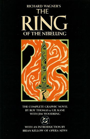 The Ring Of The Nibelung Graphic Novel
