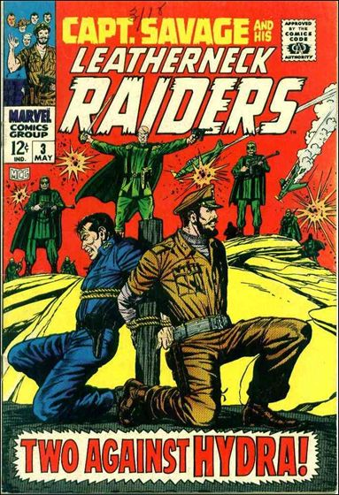Capt. Savage and His Leatherneck Raiders 3-A by Marvel