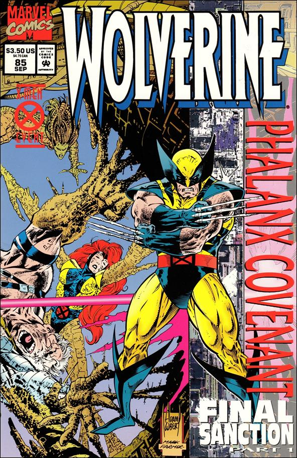 Wolverine (1988)  85-A by Marvel