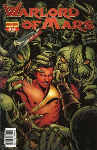Warlord of Mars 11-B by Dynamite Entertainment