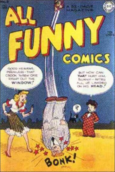 All Funny Comics 8-A by DC