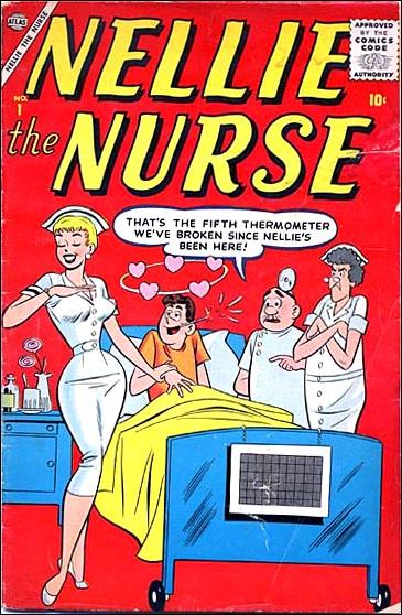 Nellie the Nurse (1957) 1-A by Atlas