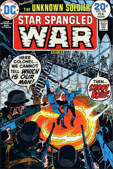 Star Spangled War Stories (1952) 178-A by DC