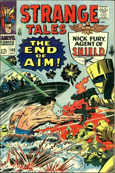 Strange Tales (1951) 149-A by Marvel