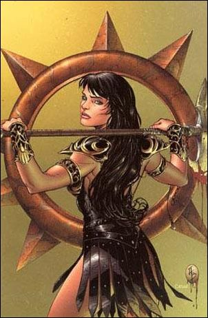 Xena (2006) 2-D by Dynamite Entertainment