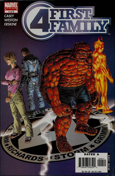 Fantastic Four: First Family (2006) 4-A by Marvel