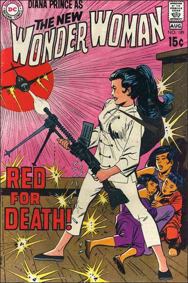 Wonder Woman (1942) 189-A by DC