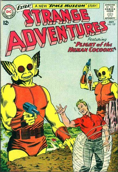 Strange Adventures (1950) 157-A by DC
