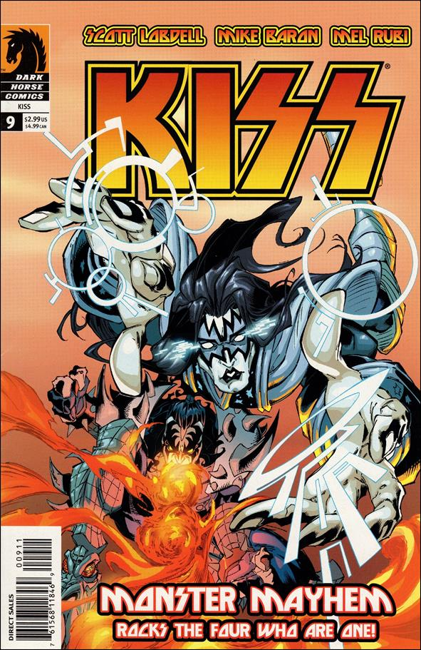 Kiss (2002) 9-A by Dark Horse