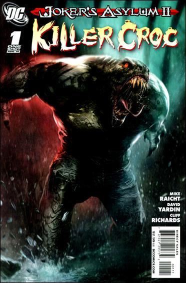 Joker's Asylum II: Killer Croc 1-A by DC