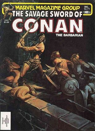 Savage Sword of Conan (1974) 71-A