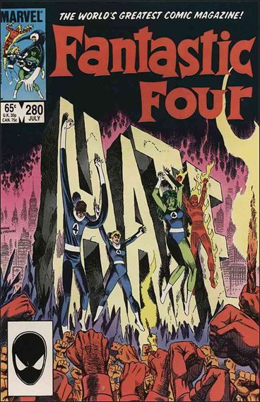 Fantastic Four (1961) 280-A by Marvel