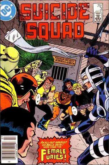 Suicide Squad (1987) 3-A by DC