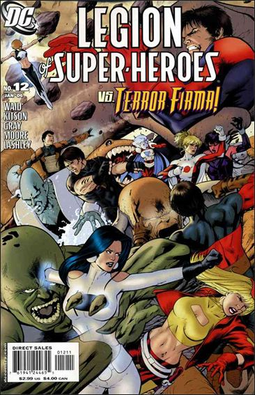 Legion of Super-Heroes (2005) 12-A by DC