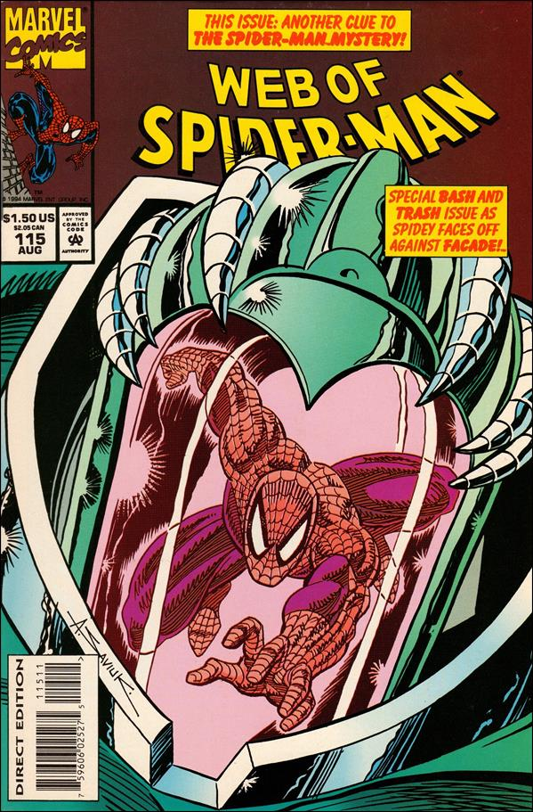 Web of Spider-Man (1985) 115-A by Marvel