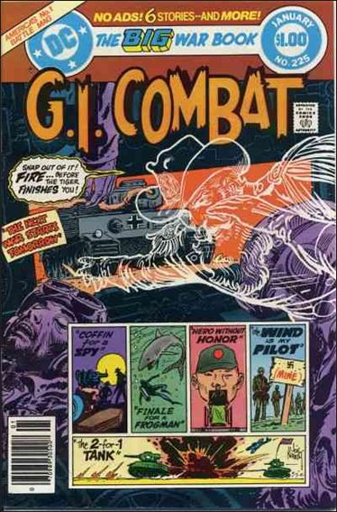 G.I. Combat (1952) 225-A by DC