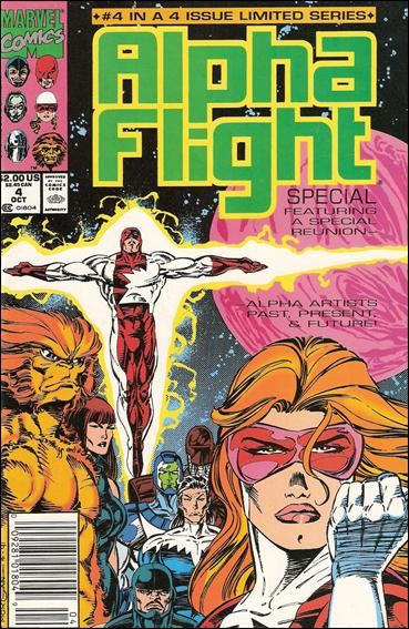 Alpha Flight Special (1991) 4-A by Marvel