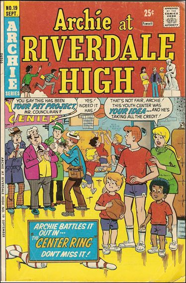 Archie at Riverdale High 19-A by Archie