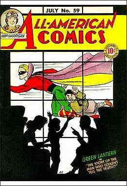 All-American Comics (1939) 59-A by DC