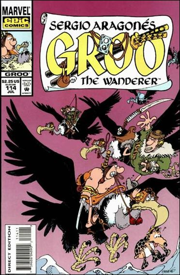 Sergio Aragones Groo the Wanderer 114-A by Epic