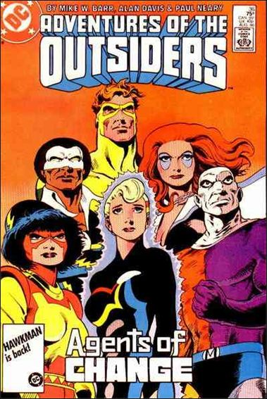 Adventures of the Outsiders 36-A by DC