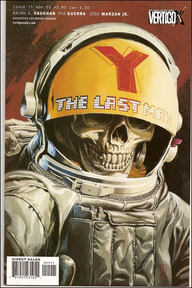 Y: The Last Man 15-A by Vertigo