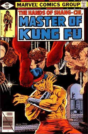 Master of Kung Fu 80-A by Marvel