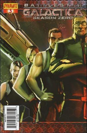 Battlestar Galactica: Season Zero 3-C by Dynamite Entertainment