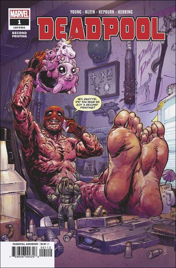 Deadpool (2018) 1-J by Marvel