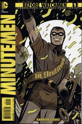 Before Watchmen: Minutemen 1-C by DC